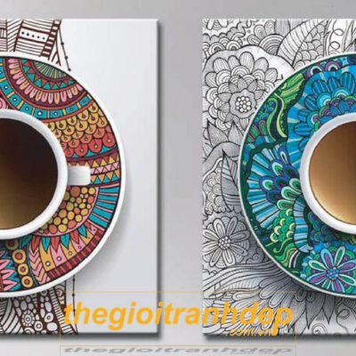 Tranh Treo Tường Dành Cho Quán Coffee
