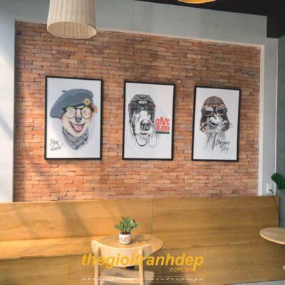 Tranh treo tường quán cà phê