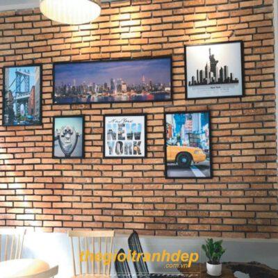 Tranh treo tường quán cà phê 2