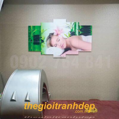 Tranh treo tường spa 1