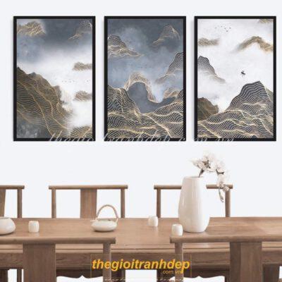 Tranh treo tường nghệ thuật trừu tượng