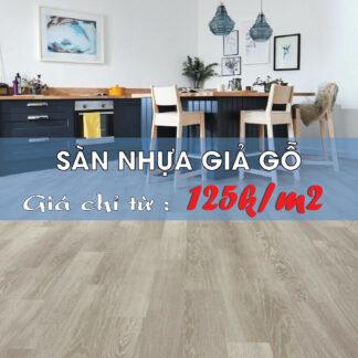 Sàn nhựa giả gỗ bền đẹp, giá siêu rẻ tại Đà Nẵng