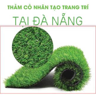Thảm cỏ nhân tạo trang trí sân vườn giá rẻ tại Đà Nẵng