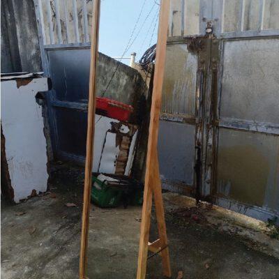 Gương soi toàn thân viền gỗ2