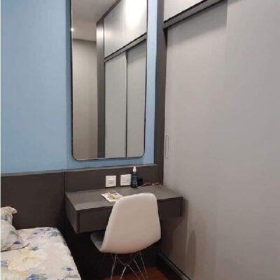 Gương trang điểm hình chữ nhật
