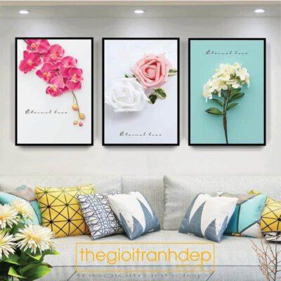 Tranh treo tường các loài hoa