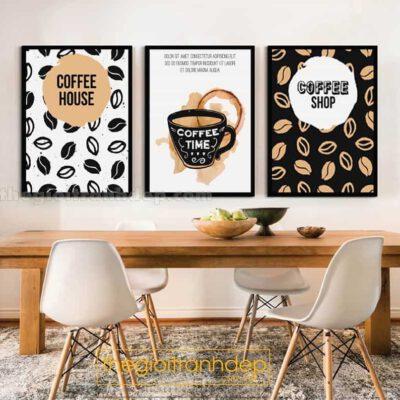 Tranh treo tường cafe