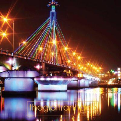 Tranh treo tường cầu sông Hàn