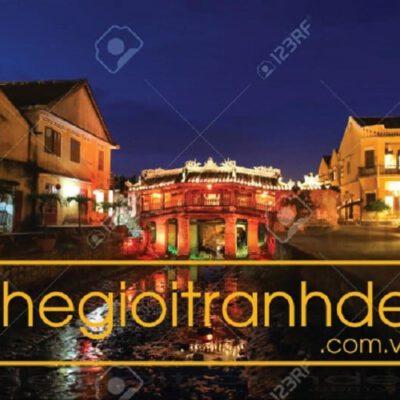 Tranh treo tường chùa cầu Hội An