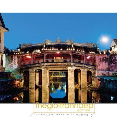 Tranh treo tường chùa cầu Hội An 4