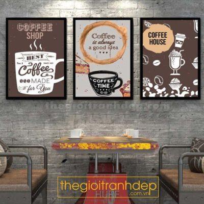 Tranh treo tường coffee house