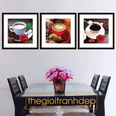 Tranh treo tường hương vị cafe