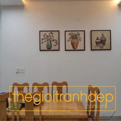Tranh treo tường phòng ăn 6
