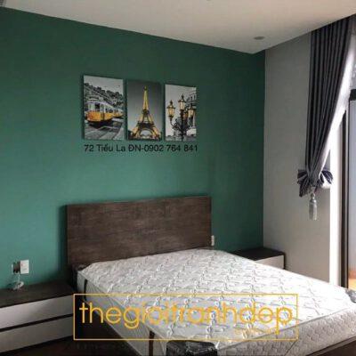 Tranh treo tường phòng ngủ paris