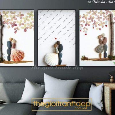 Tranh treo tường phòng ngủ tình yêu