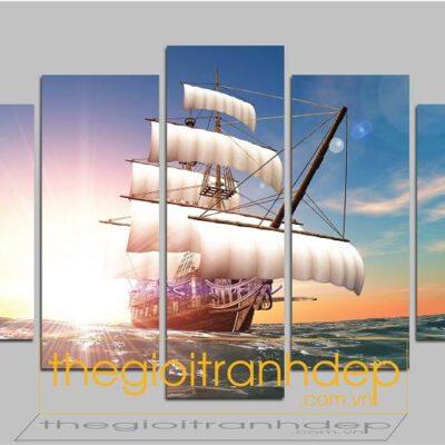 Tranh treo tường thuận buồm xuôi gió 3