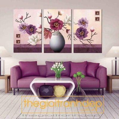 Tranh treo tường tĩnh vật và hoa10