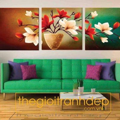 Tranh treo tường tĩnh vật và hoa12