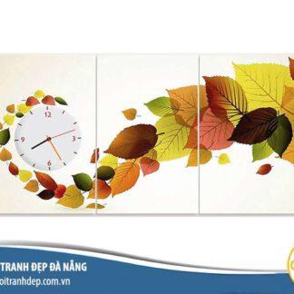 Mẫu tranh đồng hồ treo tường đẹp, sang trọng và giá rẻ được ưa chuộng