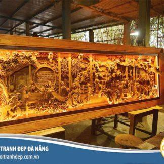Tranh gỗ treo tường, nhận thiết kế gia công tranh gỗ theo yêu cầu