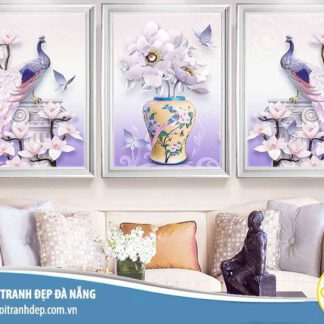 21 Mẫu tranh trang trí, treo tường 3D bán chạy nhất năm 2020
