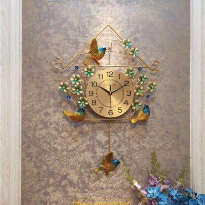 Đồng hồ treo tường quả lắc chú chim