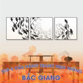 Cửa hàng tranh treo tường đẹp tại Bắc Giang