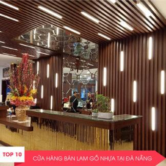 Top 10+ công ty lam nhựa giả gỗ ốp tường, trần tại Đà Nẵng