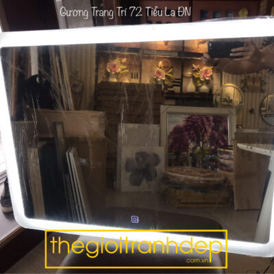 Gương đèn led vuông