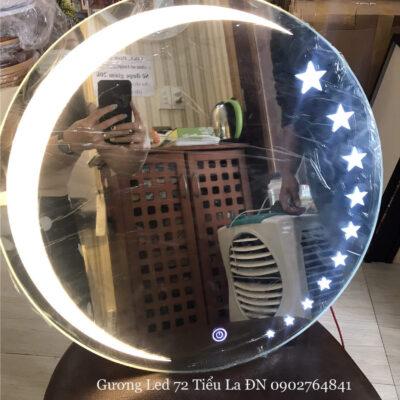 Gương đèn led trăng sao