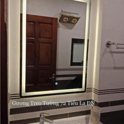 Gương đèn led trang trí lavarbo
