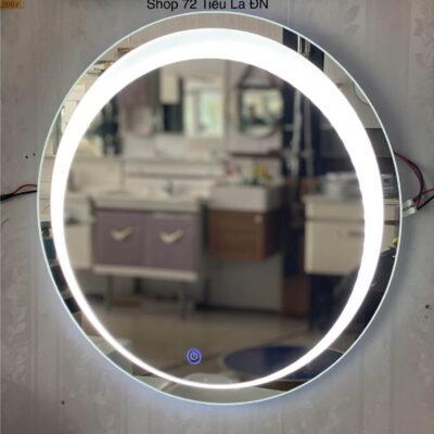 Gương đèn led tròn cảm ứng