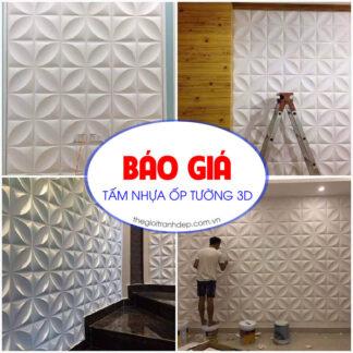 Tấm ốp tường 3D nhựa PVC Hàn Quốc đẹp, giá rẻ tại Đà Nẵng