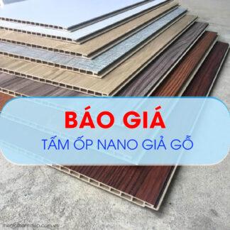 Báo giá tấm nhựa Nano ốp tường, ốp trần giá rẻ tại Đà Nẵng