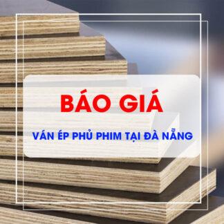 Báo giá ván ép phủ phim, ván cốt pha giá rẻ tại Đà Nẵng