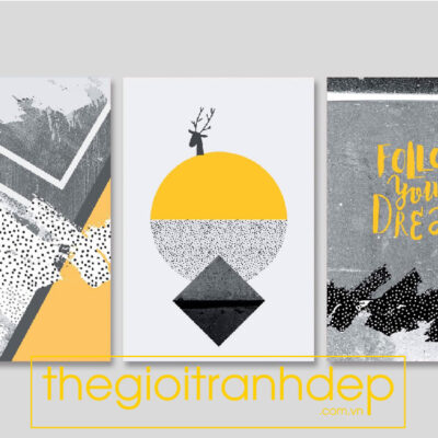 Tranh treo tường canvas nghệ thuật  Follow Your Dream