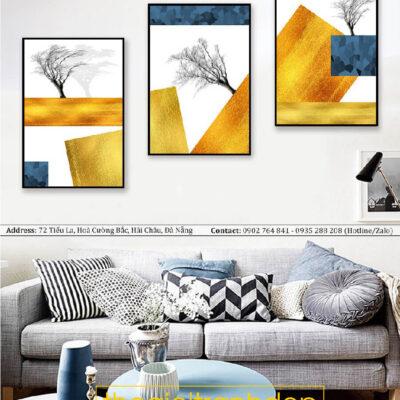 Tranh treo tường canvas nghệ thuật cây