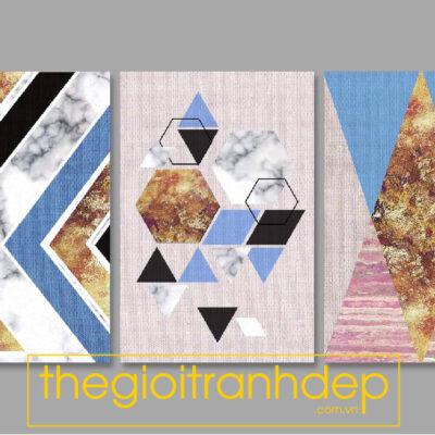 Tranh treo tường canvas hình khối 5