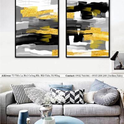 Tranh treo tường canvas nghệ thuật đẹp 2