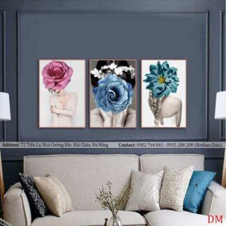 Mua tranh treo tường phòng khách khổ lớn giá rẻ ở đâu tại ĐÀ NẴNG?