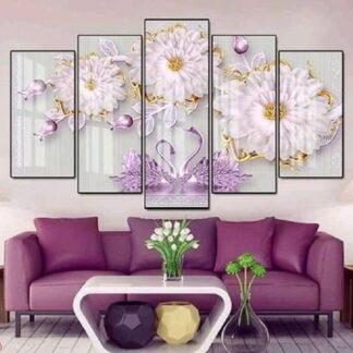 Cách chọn tranh treo tường phòng khách hiện đại và sang trọng theo phong thủy